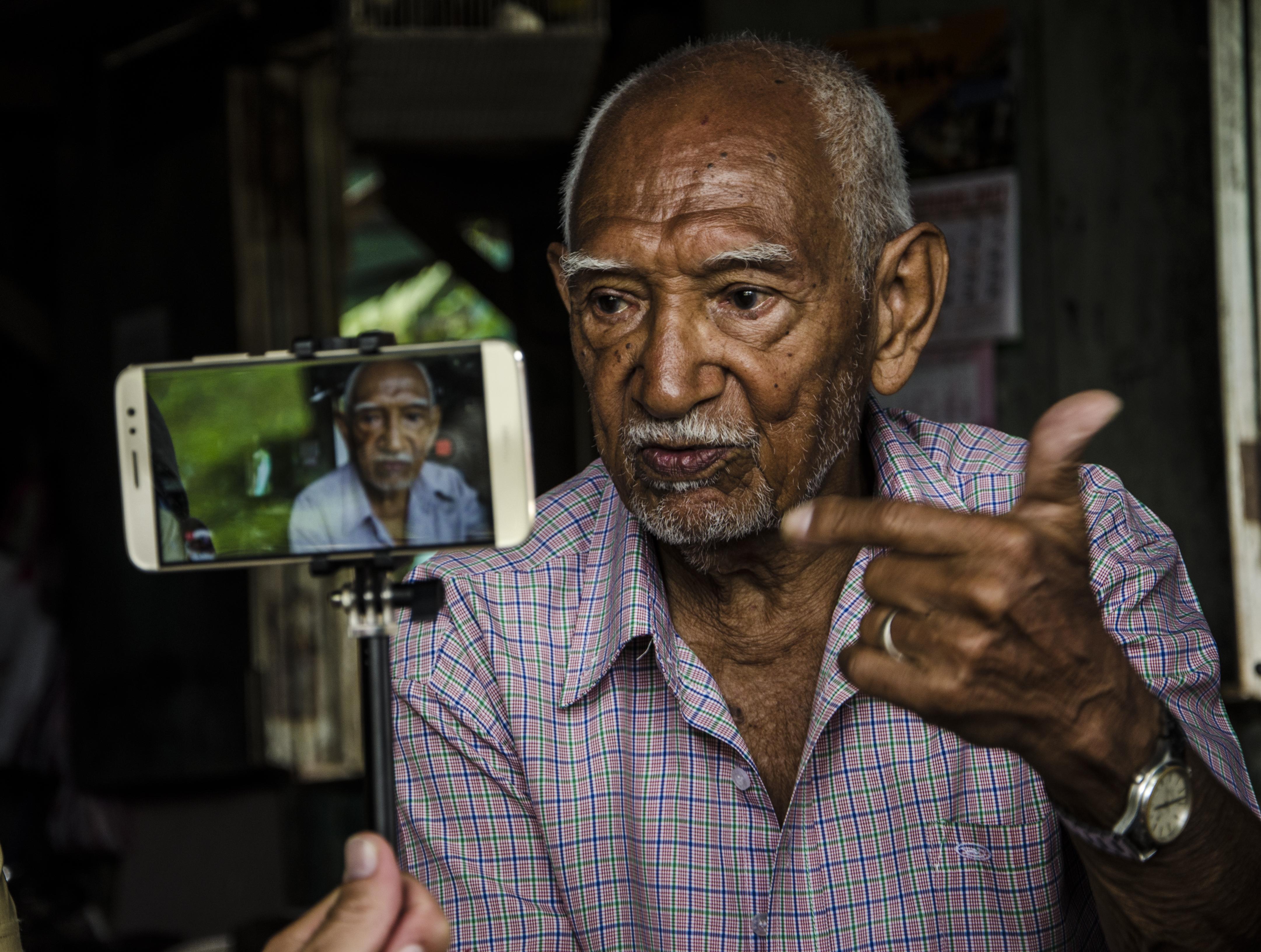 CIUDAD CORTÉS. Con casi 90 años va pedalear de frontera a frontera. La fortaleza de una familia