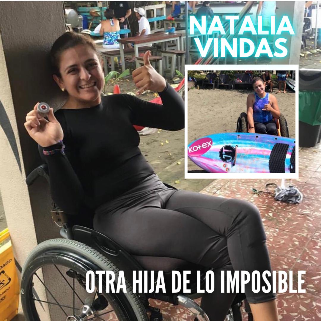 LOS GUERREROS: Natalia Vindas – Otra hija de lo imposible