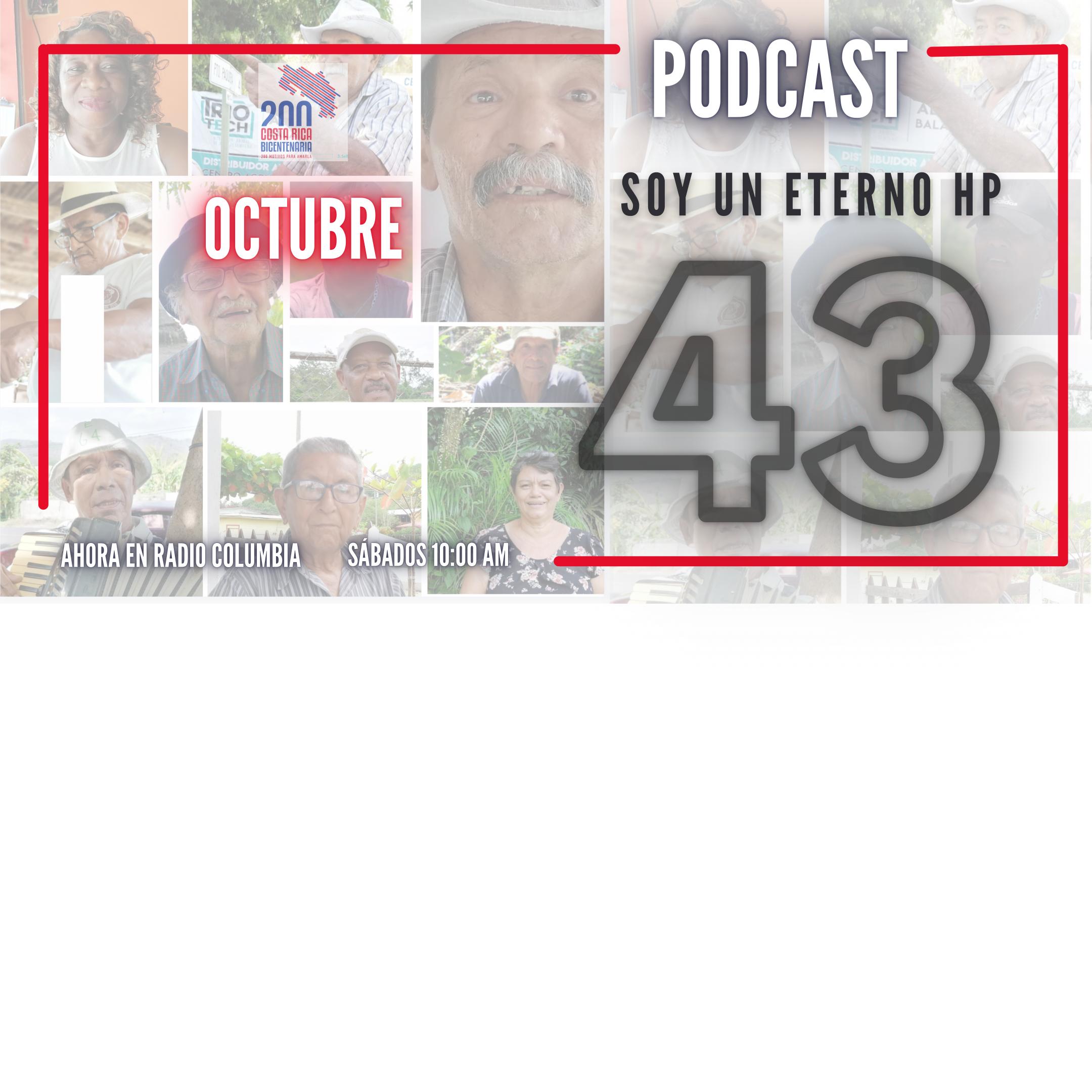 PODCAST 43. LLEGÓ OCTUBRE. MES DE LAS CULTURAS. Entrevistas.